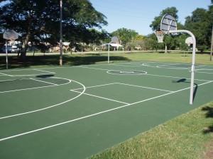 Basketball Court Repair
